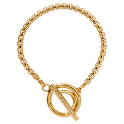 Buy Nikki Lissoni Gold Bracelet 19cm