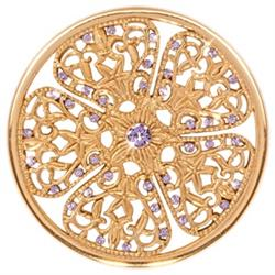 Gold Flower Fantasy Large Coin 43mm