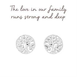 Mantra Family Tree Earrings
