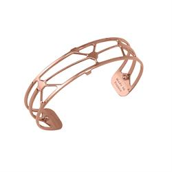 Slim Rose Gold Solaire Cuff Bangle