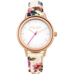 Rose Gold Jasmine Floral Watch