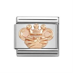 Rose Gold Rat King Charm