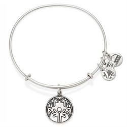 The Power of Unity Bangle in Rafaelian Silver