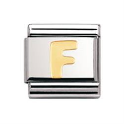 Buy Nomination Gold Letter F