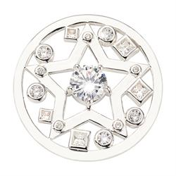 Silver Charming Star Medium Coin 33mm