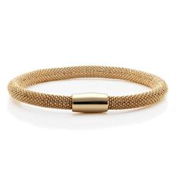Buy Pure Attraction Large Gold Mesh Bracelet