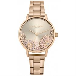 Laura Rose Gold Flower Watch