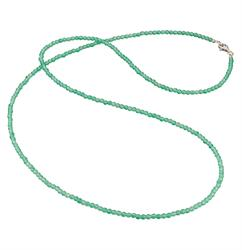 Turquoise Beaded 80cm Necklace by Englesrufer