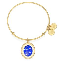 Alex and Ani Celestial Wheel Aries Shiny Gold Finish