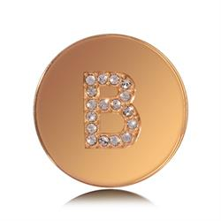 Letter B Small Gold Coin