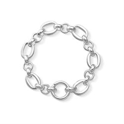Alternating Belcher Bracelet (size Medium)