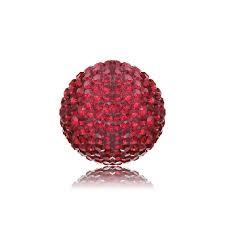 Medium Red Crystal Sound Ball by Englesrufer