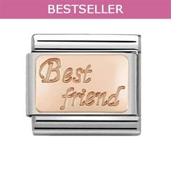Buy Nomination Rose Gold Best Friend Plate