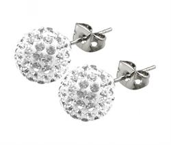 Candeur 10mm White Studs
