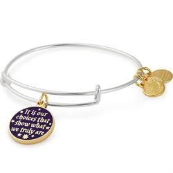 Harry Potter Choices Two-Tone Bangle