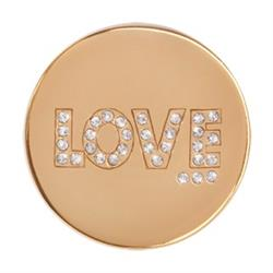 Nikki Lissoni Gold Love Coin 33mm Outlet