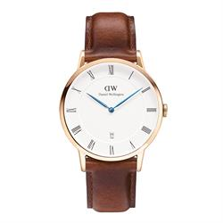 Daniel Wellington Dapper St Mawes Rose Gold Gents Watch