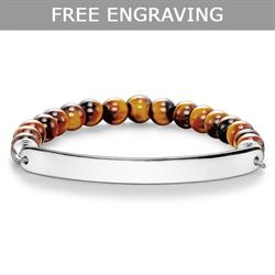 Love Bridge Tigers Eye Bracelet XLarge