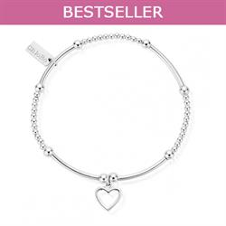 Cute Mini Open Heart Bracelet