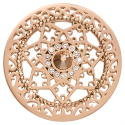 Royal Star Rose Gold Coin 43mm