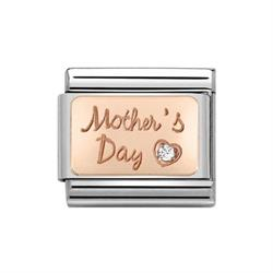 Rose Gold Mother's Day Charm