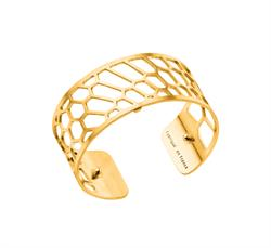 Gold Honeycomb Medium Cuff