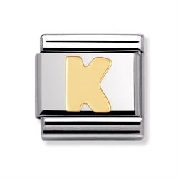 Buy Nomination Gold Letter K