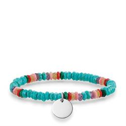 Turquoise Love Bridge Bracelet Large