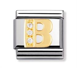 Buy Nomination Gold & CZ Letter B