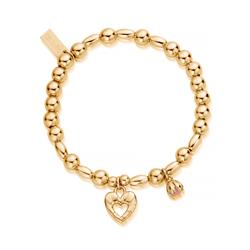 Yellow Gold Divine Fortune Bracelet