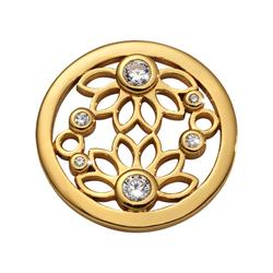 Gold Spring Time Coin 23mm