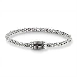 Silver Threaded Bracelet by Thomas Sabo
