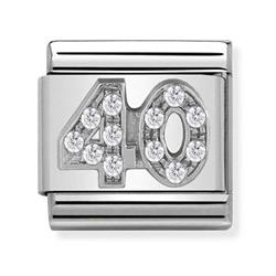 Buy Nomination Silver CZ 40