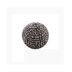 Grey Crystal Sound Ball Medium