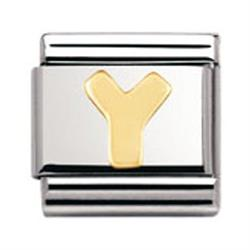 Buy Nomination Gold Letter Y