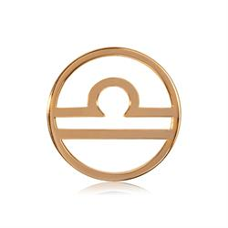 Nikki Lissoni Outlet Libra Gold Medium Coin