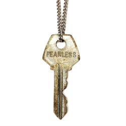 "FEARLESS Classic Brass 36"" Key Necklace"