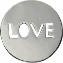 Silver Love It Is Coin 23mm