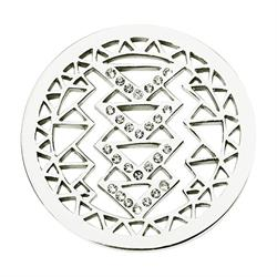 Aztec Beauty Silver Coin 33mm