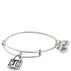 Unbreakable Love Bangle in Rafaelian Silver