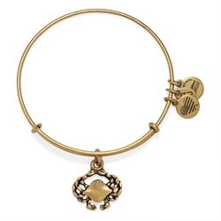 Crab bangle in Rafaelian Gold