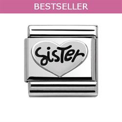 Nomination Sister in Heart Charm