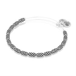 Beehive Beaded Bangle Rafaelian Silver