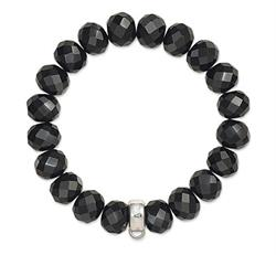 Buy Thomas Sabo Black Obsidian Small Charm Bracelet