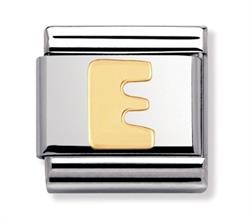 Buy Nomination Gold Letter E