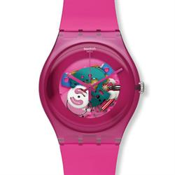 Swatch Pink Lacquered Watch