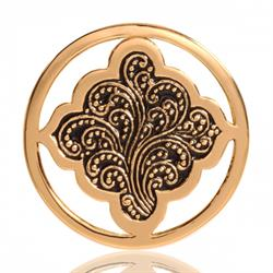 Yellow Gold Henna Dream Coin 33mm