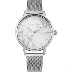 Silver Darcy Mesh Strap Watch