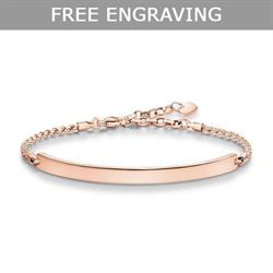 Love Bridge Rose Gold Bracelet Medium