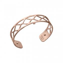 Slim Rose Gold Cannage Cuff